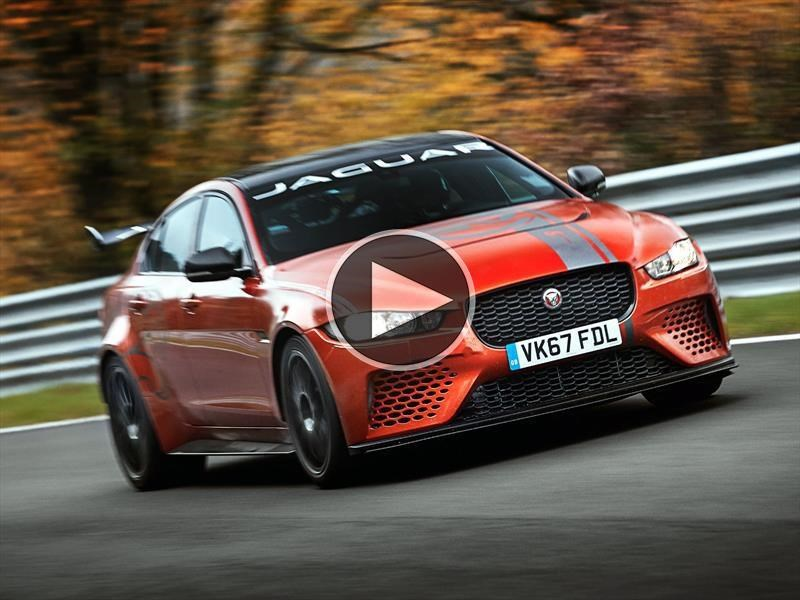 Jaguar XE SV Project 8 rompe todos los registros en Nürburgring
