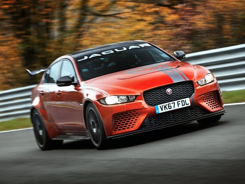 Video: Jaguar XE SV Project 8, locuras en Nürburgring