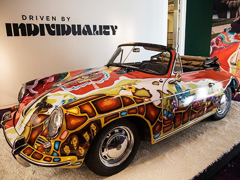 Porsche 356 Cabriolet de Janis Joplin subastado en USD$1.7 millones