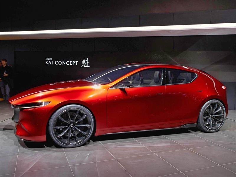 Mazda KAI Concept, anticipando el Mazda 3