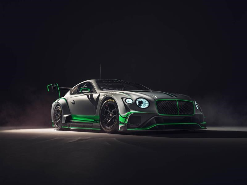 Bentley Continental GT3, para competir y ganar
