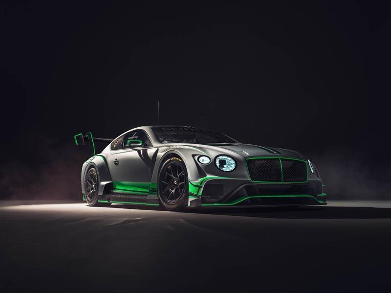 Bentley Continental GT3 2018 debuta