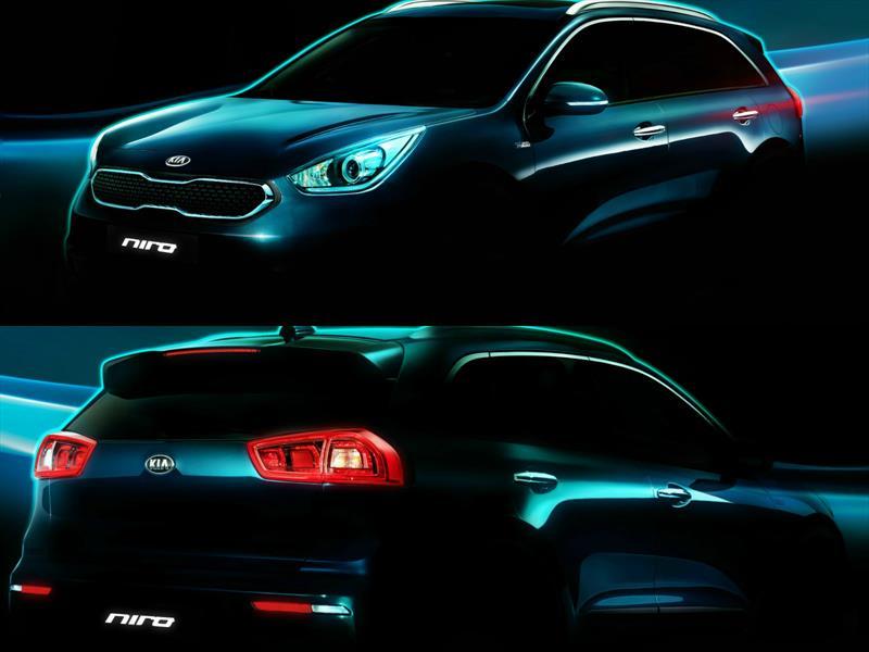 """KIA presenta su nuevo vehículo híbrido: """"Niro"""""""