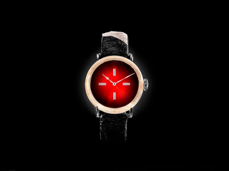 Swiss Mad por H. Moser & Cie, el primer reloj con caja hecha de queso