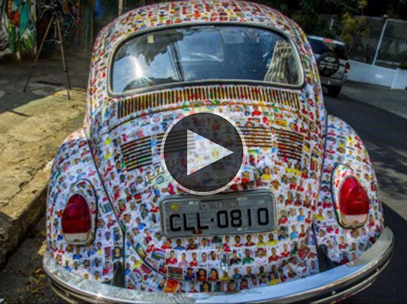 Video: Un Volkswagen Beetle perfecto para el Mundial