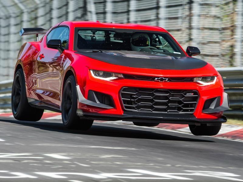 Chevrolet Camaro ZL1 1LE 2018 arrasa en Nurburgring