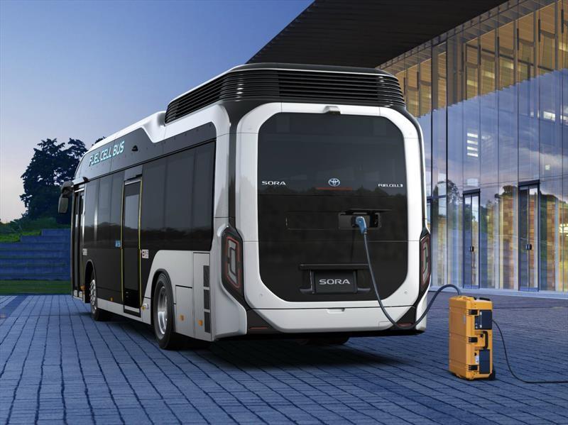 Toyota Sora, el transporte público de hidrógeno