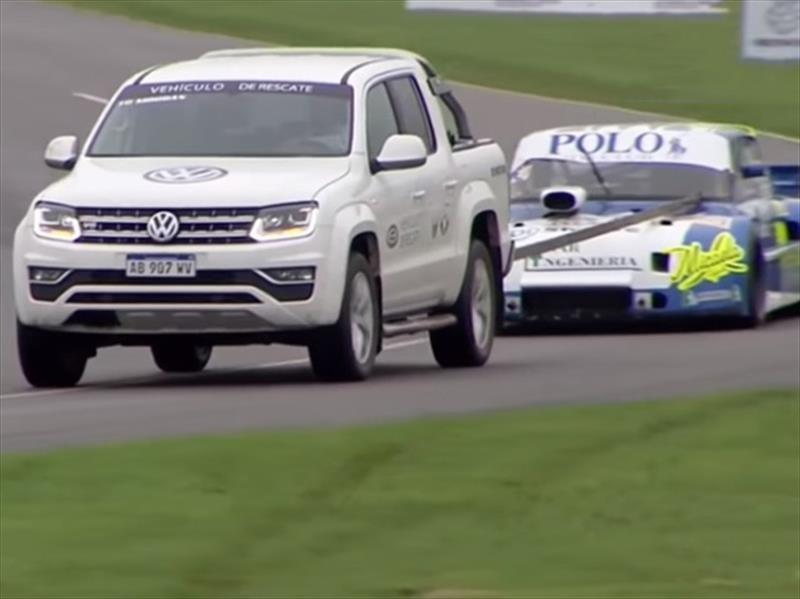 Volkswagen Amarok, el vehículo de rescate en el TC Pick Up