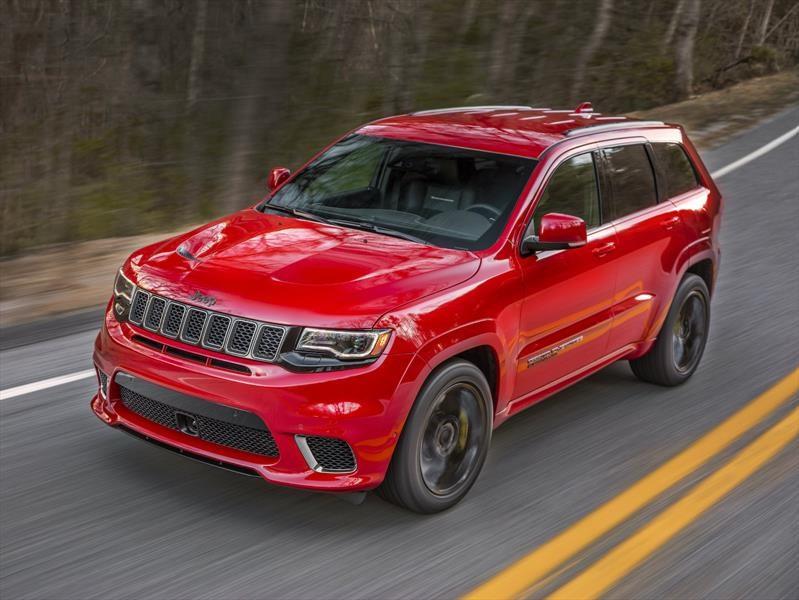 Jeep Grand Cherokee Trackhawk 2018 supera a estos súper autos en aceleración