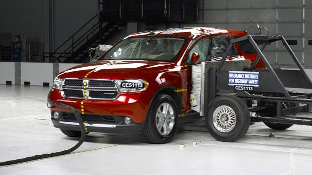 Otorga el IIHS el reconocimiento Top Safety Pick a la Dodge Durango 2011