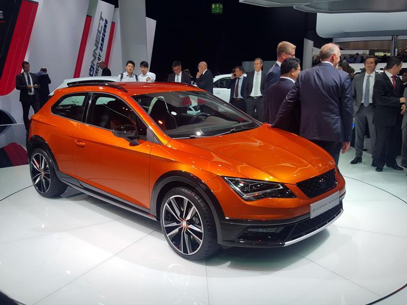 SEAT León Cross Sport Concept, un CUPRA para salir del asfalto
