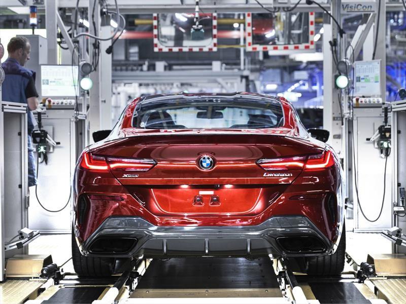 BMW le da inicio a la fabricación del Serie 8 Coupé 2019