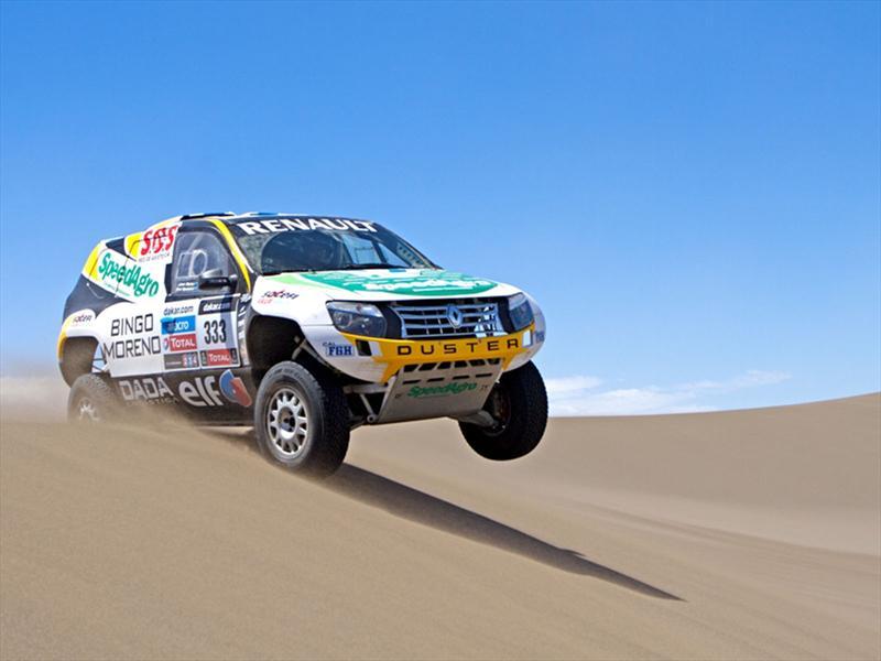 Renault presentó el Duster que competirá en el Dakar 2013