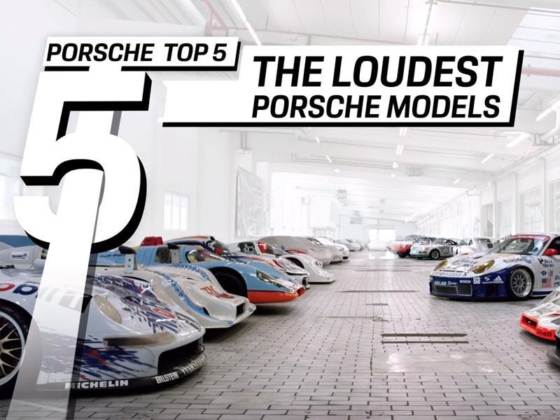 Los autos Porsche más ruidosos de la historia