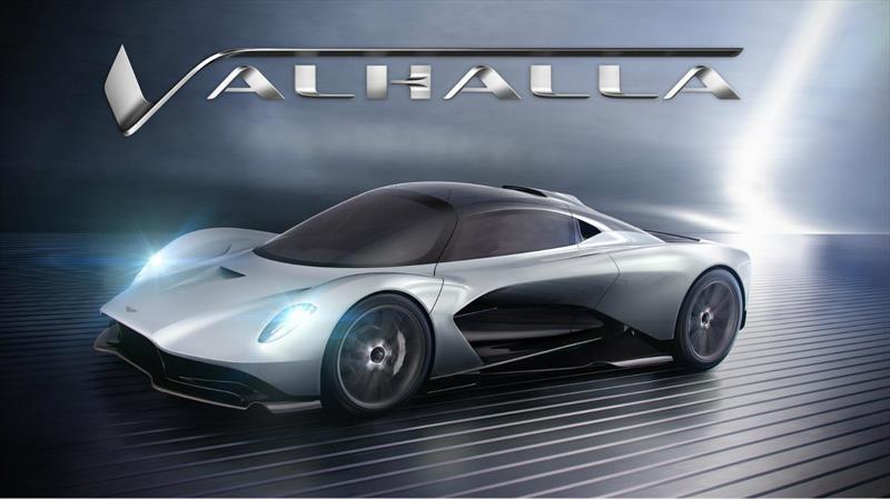 Valhalla es el nombre con el que Aston Martin nombra a su nuevo súper auto