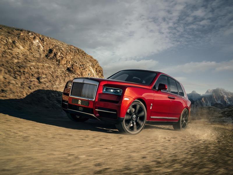 Rolls-Royce Cullinan, un SUV con motor V12 que no conoce límites