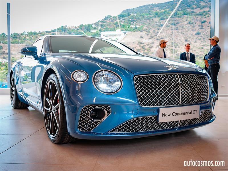 Bentley Continental GT 2019 inicia nueva era para la marca en Chile