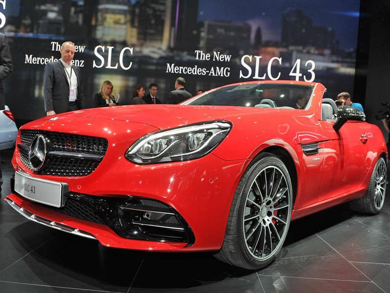 Mercedes-Benz SLC 2017, el sucesor del SLK