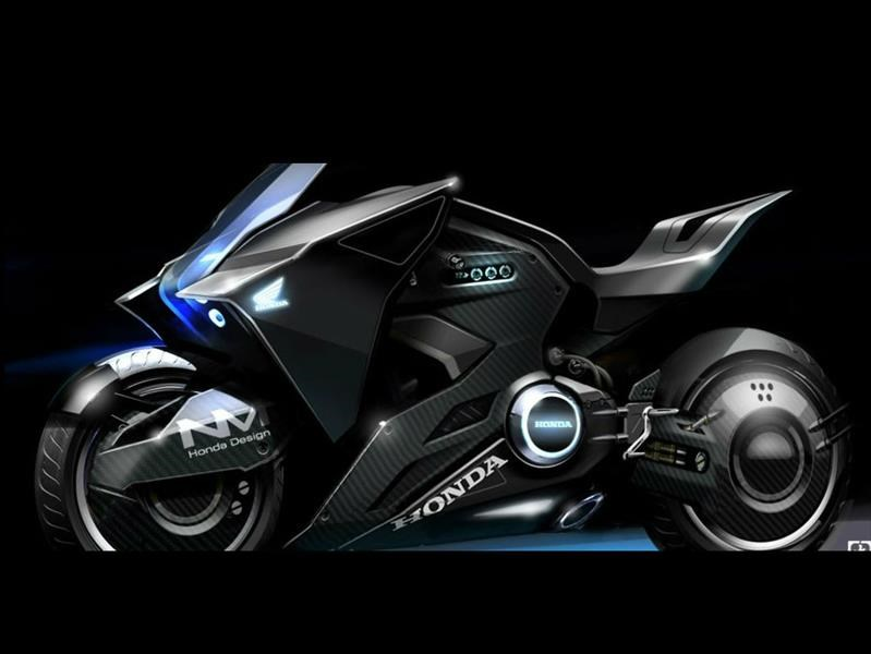 Honda NM4 Vultus, la moto de Scarlett Johansson para Ghost in the Shell