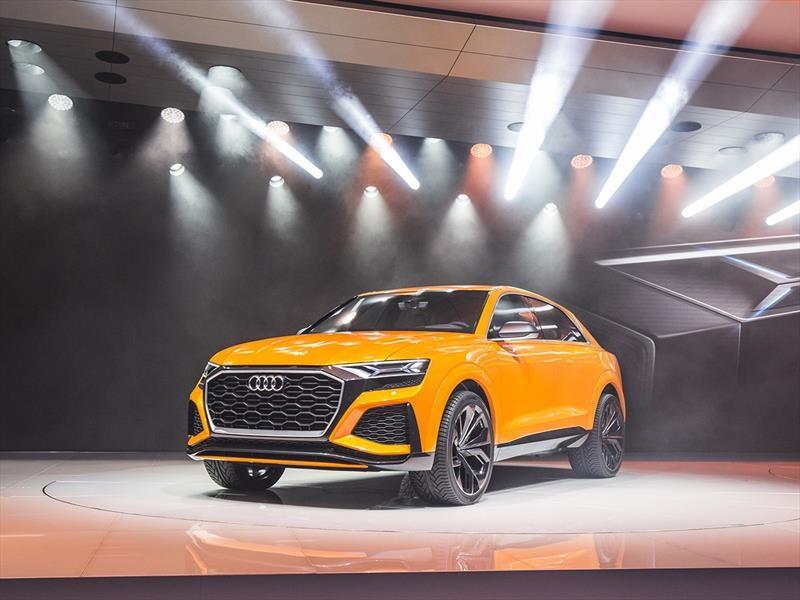 Audi Q8 Sport Concept, gigantón de alto desempeño