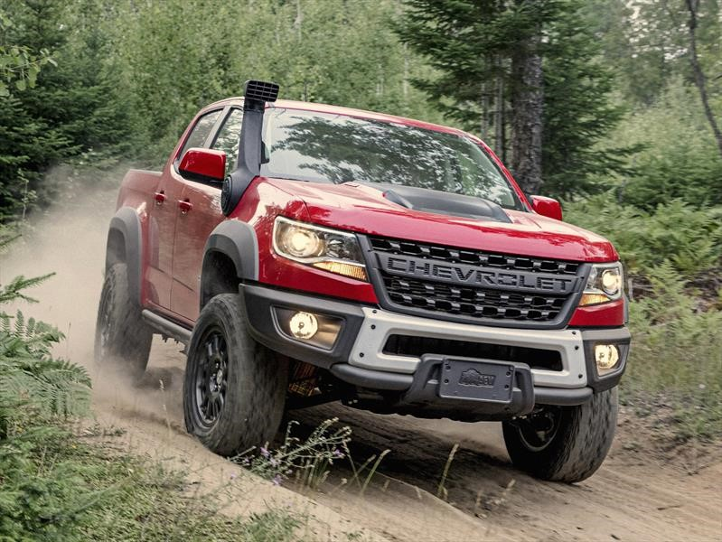 Chevrolet Colorado ZR2 Bison debuta