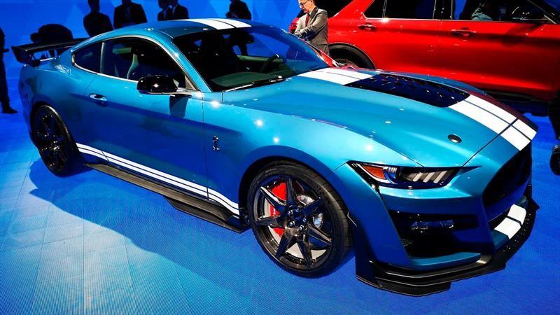 Mustang Shelby GT500 2020 es el Ford más poderoso de la historia