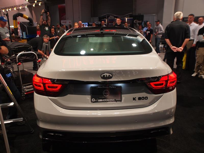 High-Performance Kia K900 con 650 hp