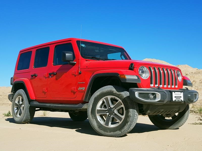 Los Easter Eggs del Jeep Wrangler 2018