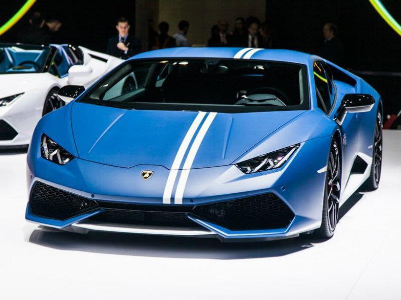 Lamborghini Huracán Avio, héroe de la Fuerza Aérea