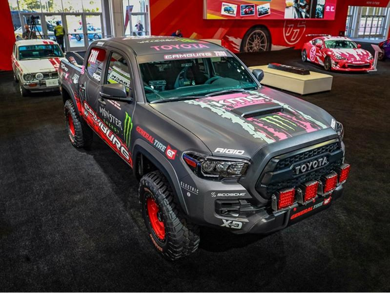 Toyota Tacoma Trd Pro Race Truck Fuerza Excesiva