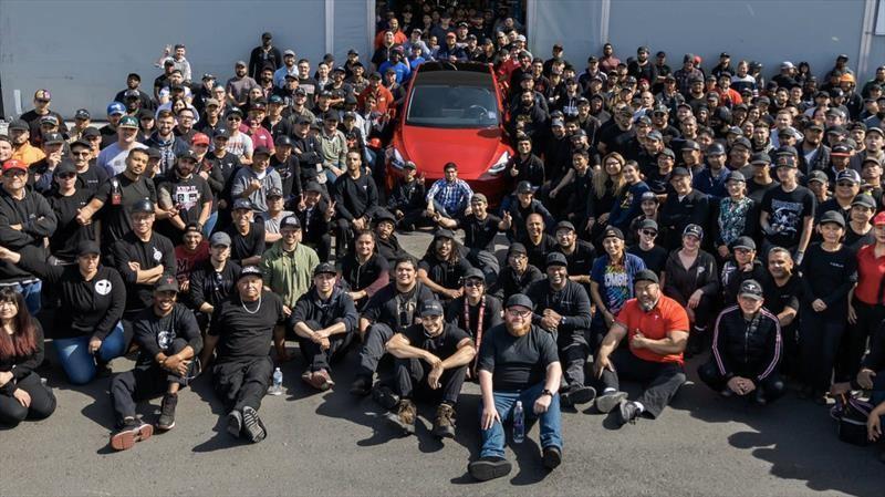 Tesla registra a 1,000,000 de automóviles fabricados