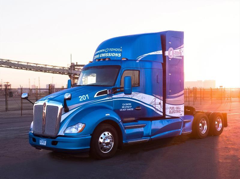 Kenworth y Toyota desarrollarán camiones eléctricos en conjunto
