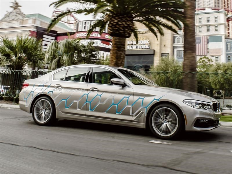 BMW Serie 5 autónomo: Lo probamos en el CES 2017