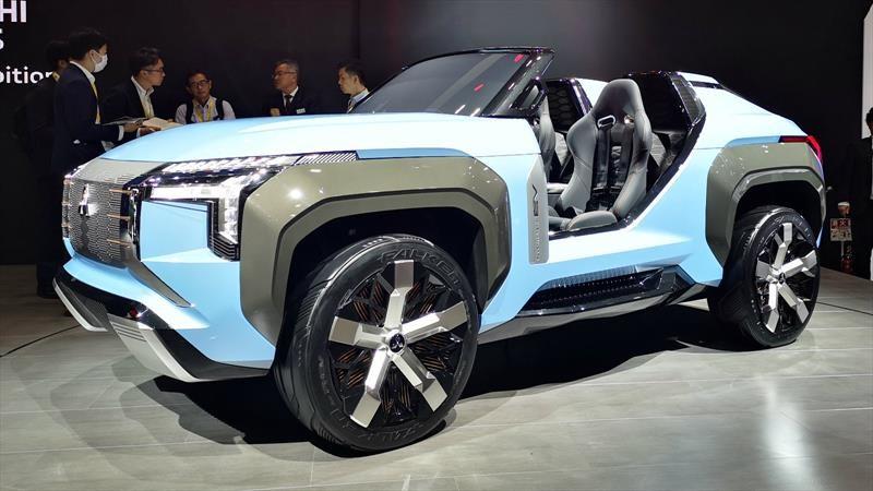 Mitsubishi MI-Tech Concept es un buggy hybrid plug-in con un alto desempeño off-road