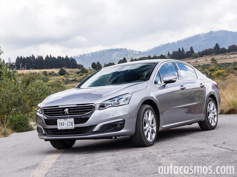 Peugeot 508 2015 a prueba