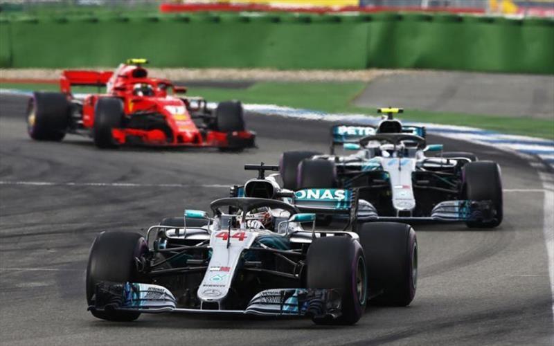 2018 F1: Hamilton gana el GP de Alemania
