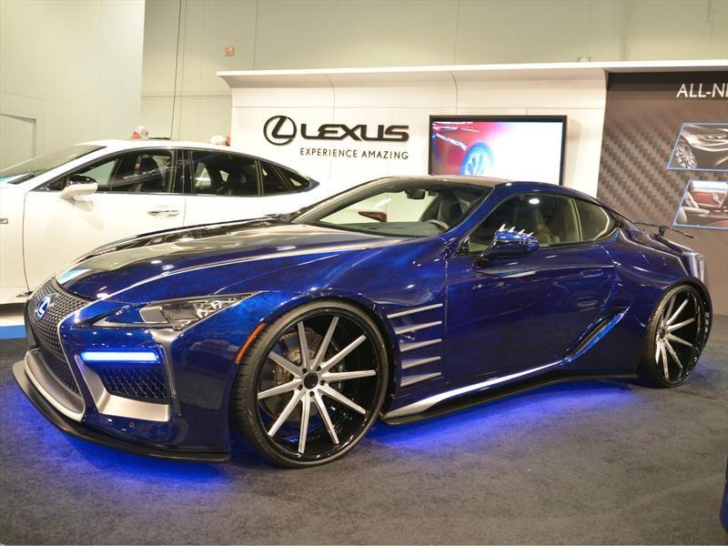 Lexus Black Panther Inspired LC, un auto de ciencia ficción