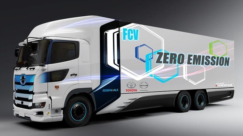 Hino Motors y Toyota desarrollan un camión a hidrógeno con una autonomía superior