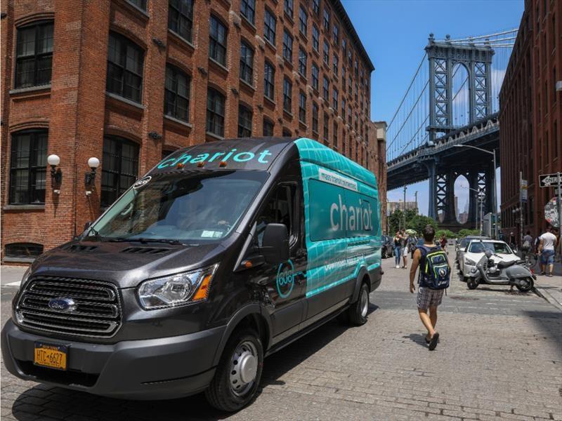 Ford Chariot es el nuevo transporte compartido