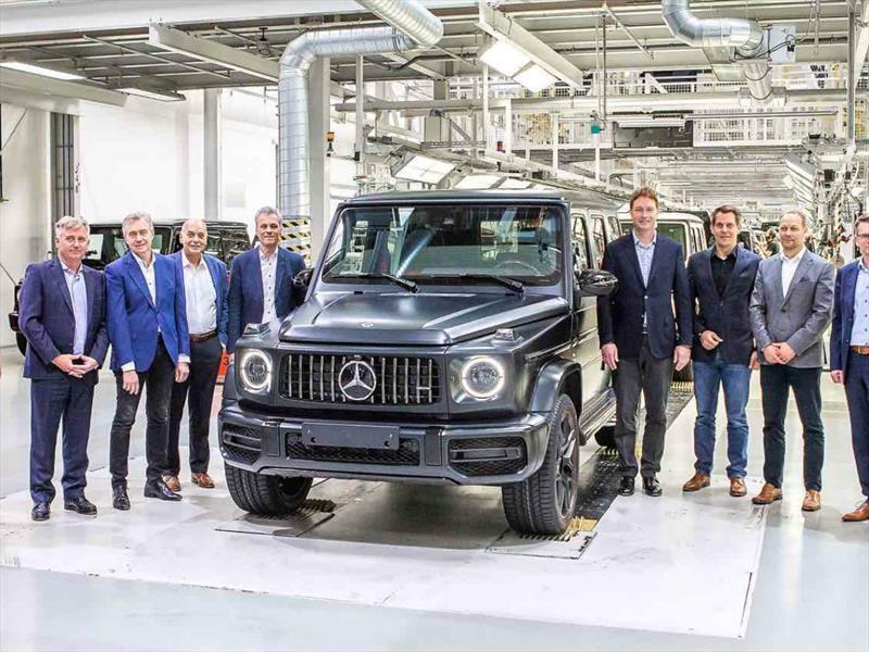 Mercedes Benz Clase G 2019 Inicia Produccion Autocosmos Com