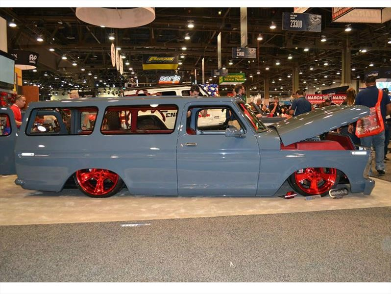 """Ford B100 1976 """"El Chapo"""" es una SUV sensacional"""