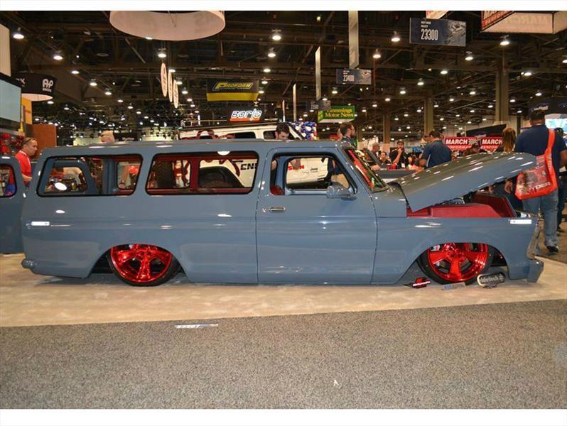 "Ford B100 1976 ""El Chapo"" por River City Rods & Fabrication, simplemente sensacional"