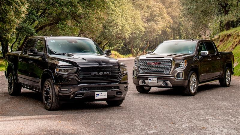 Frente a Frente: RAM 1500 VS GMC Sierra 2020
