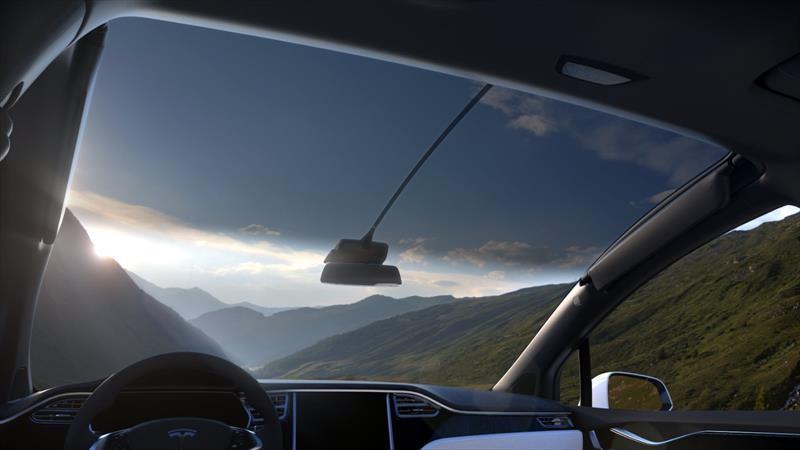 Tesla patenta un innovador sistema de limpiaparabrisas