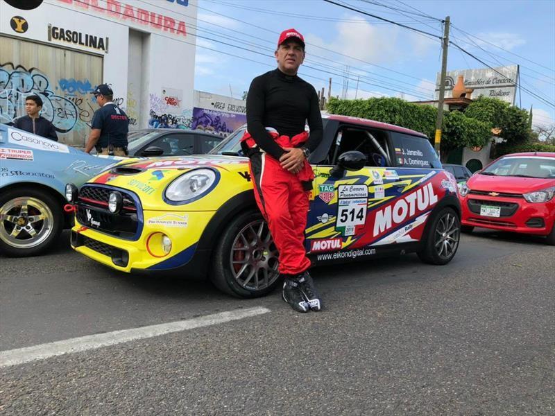 Piloto colombiano volverá a participar en la Carrera Panamericana 2018