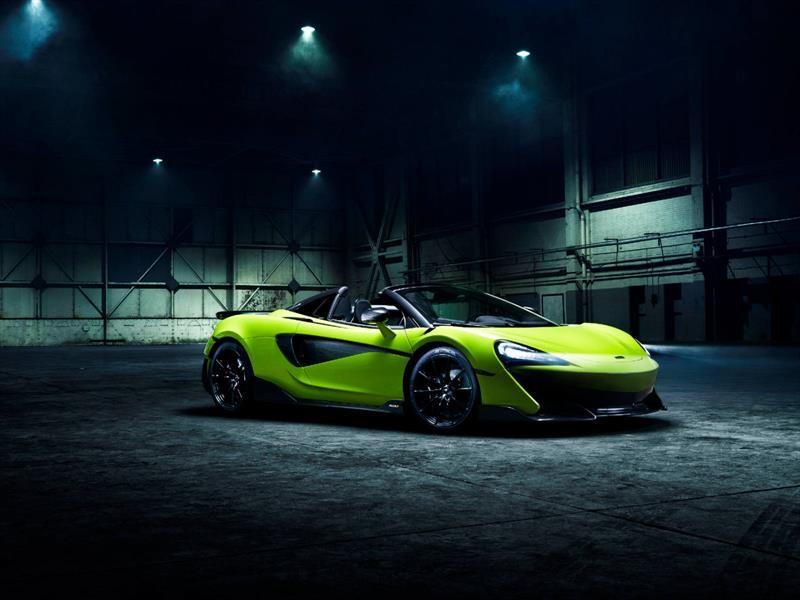 McLaren 600LT Spider 2019, velocidad pura bajo el sol