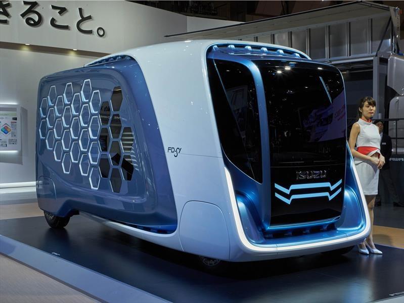 Isuzu FD-SI Concept debuta