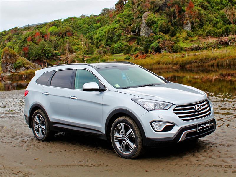 Nuevo Hyundai Grand Santa Fe Estreno Oficial En Chile