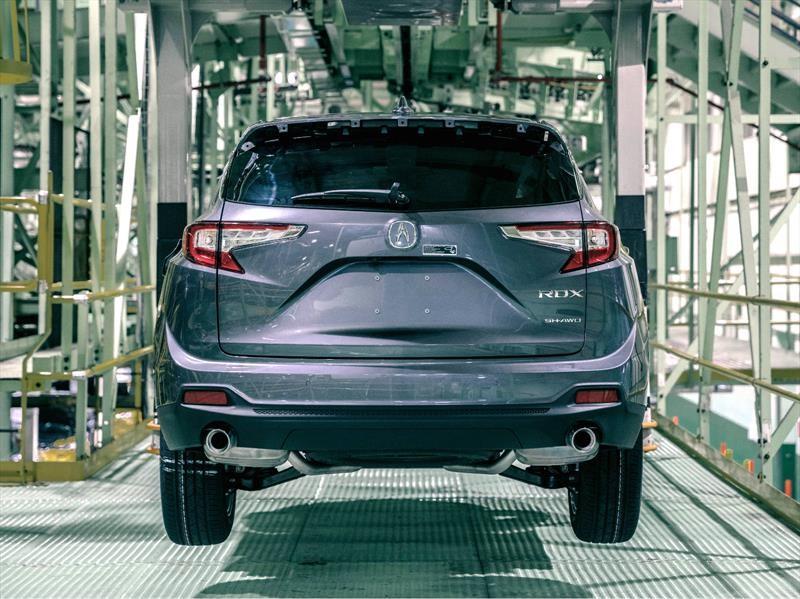 Acura inicia la producción del RDX 2019