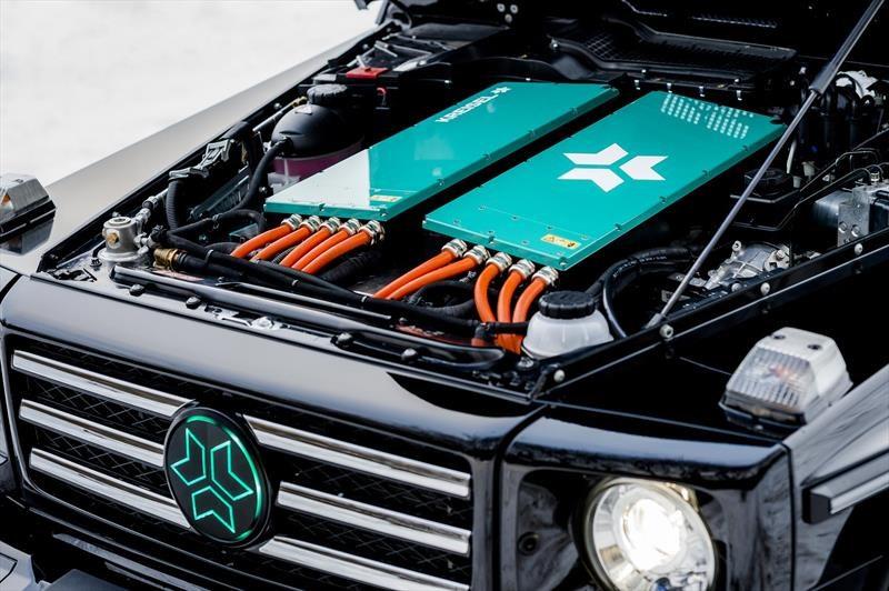Mercedes-Benz Clase G eléctrico, nuevo juguete de Schwarzenegger